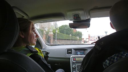 St Albans PC's Katie Rance and Lee Hammond take the Herts Advertiser for a ride-along around the dis