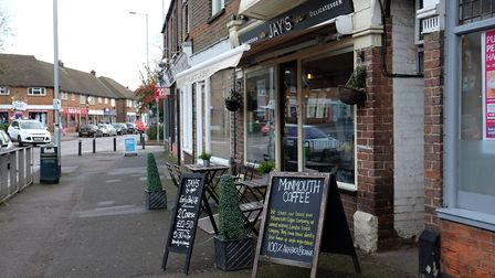 Jay's delicatessan is a popular eatery and cafe on Southdown Road