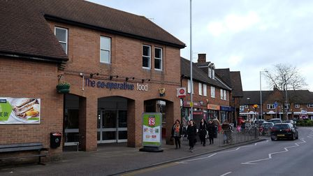 The Co-op supermarket on Southdown Road