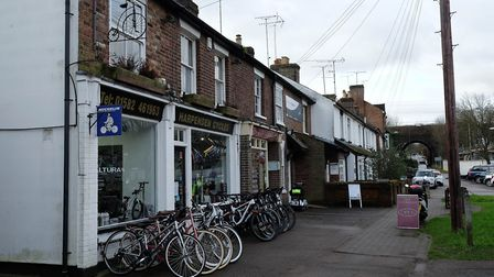 Harpenden Cycles is part of Southdown's shopping hub