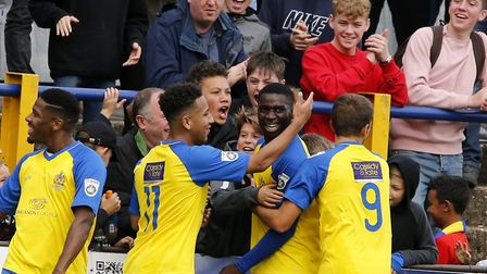 St Albans City gave a crowd of over 1,500 plenty to celebrate on Non League Day with victory over Ba