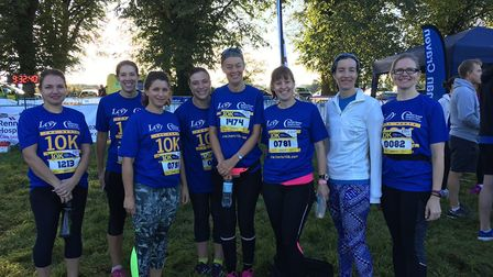 Athena Women-Only Running Group.