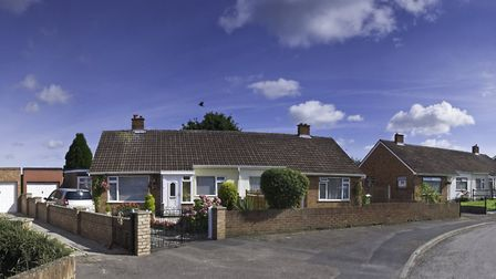 On the way out? Bungalows make up less than 7 per cent of properties currently for sale in the UK