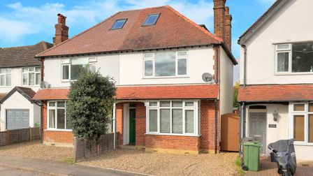The five-bed semi is on Camp Road, St Albans