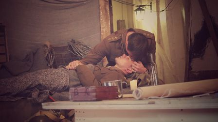 Alex Phelps and Tom Kay in Journey's End [Picture: Josh MacMillan]