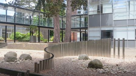 Newsom Place was praised for successfully blending old and new