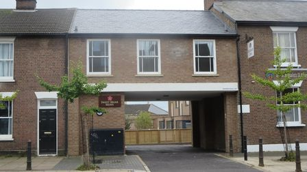 Sweet Briar Mews, Victoria Street, received a commendation