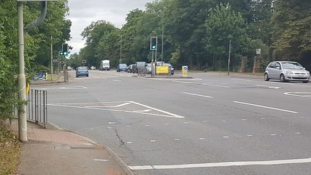 London Road,the road where the collision took place.