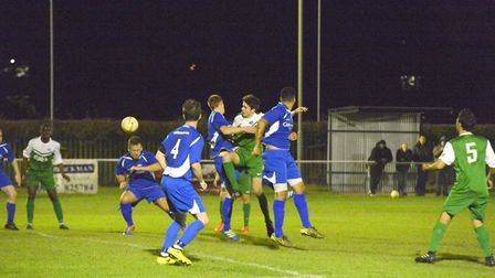 London Colney impressed in their 3-1 win over Oxhey Jets at Cotlandswick. Picture: JACQUI ELLIOT-WIL
