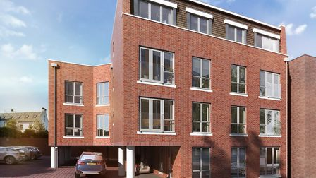 55 Victoria Street, St Albans, as it will look on completion