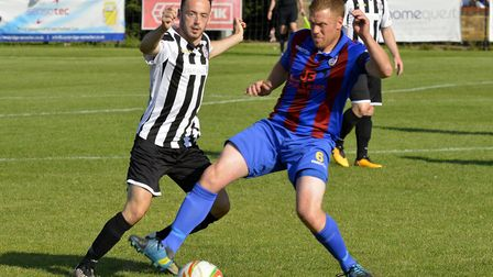 Peter Clark set St Ives Town on their way to victory at Biggleswade Town.