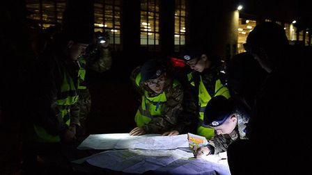 The 2017 Annual Herts & Bucks Wing Air Cadet Overnight Exercise