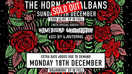 Trash Boat have added a second Christmas homecoming concert at The Horn in St Albans