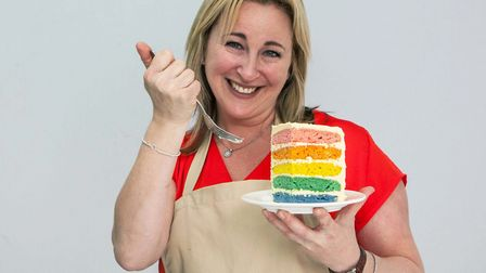 Stacey Hart will be representing Radlett at this year's Bake Off. Photo: Mark Bourdillon/Love Produc