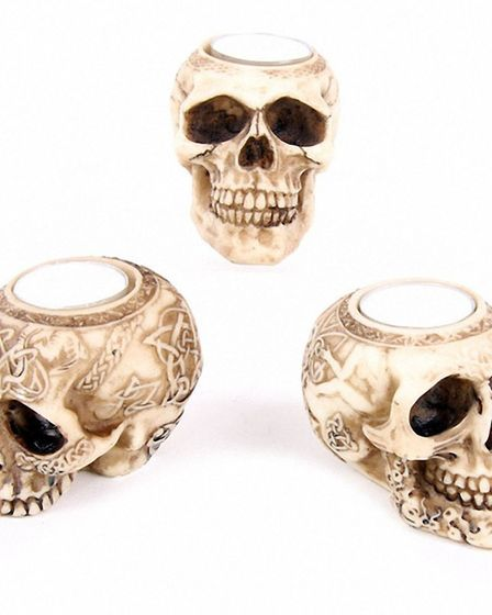 Skull tealight holder, £4.05 each, Amazon [Amazon/PA Photo/Handout]