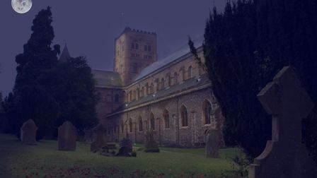 St Albans Cathedral.