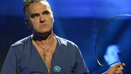 Morrissey, shown here in 2013, has said Nigel Farage would be a good prime minister. Picture: Tim Mo