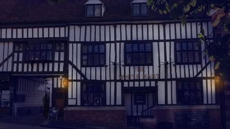 The White Hart Hotel in St Albans.