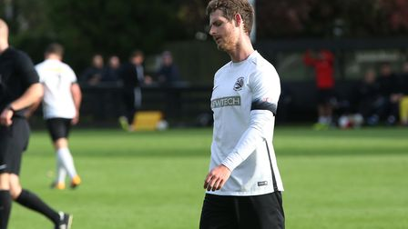 Adam Marriott looks disappointed after shooting over from a good position. Picture: Danny Loo