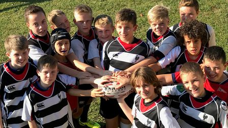 Harpenden U12s made their annual trip to northern Spain for a rugby tournament.