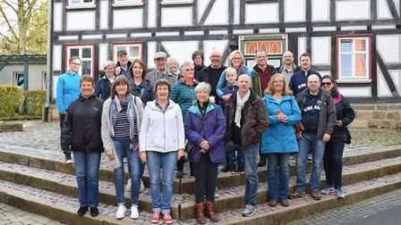 The Royston & District Twinning Association went on an exchange trip to Großalmerode. Picture: Royst