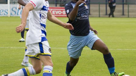 Kyran Wiltshire was sent off for the second time this season as St Neots Town won at Gosport Borough