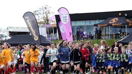 FA Girls' Football Week aims to attract more players to take up the game.