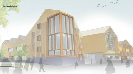Plans for the Gateway building