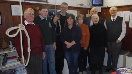 RINGING: The Ramsey bellringers are back in action