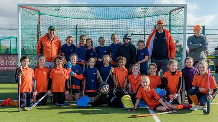 The St Albans U12 A and B teams met in the Premier Division of the Chiltern League. Picture: CHRIS H