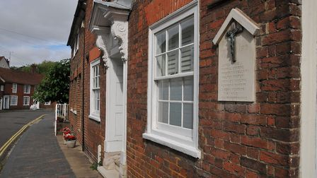 Picturesque Fishpool Street is one of St Albans' most attractive roads
