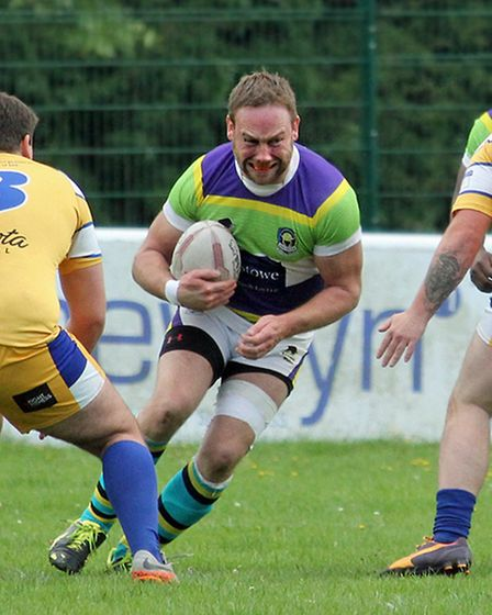 Niall Braniff in the colours of St Albans Centurions.