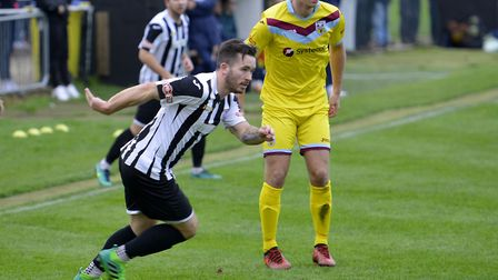 James Hall opened the scoring for St Ives Town.