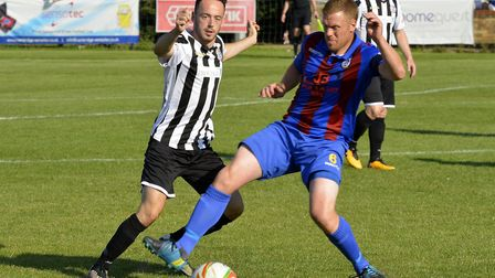 Peter Clark hit one of the goals for St Ives Town.
