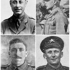 Some of the Royston soldiers from the Battle of Passchendaele. Picture: Royston's district museum