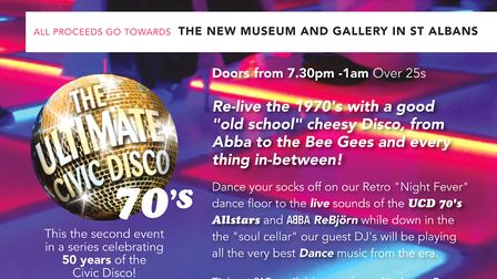 The Ultimate Civic Disco returns to The Alban Arena in St Albans