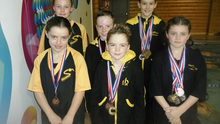 The First Strokes Godmanchester medallists.