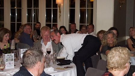 Fawlty Towers came to St Michael's Manor to raise funds for Home-Start Herts.