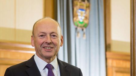 David Williams, the new leader of Hertfordshire County Council. Photo: Pete Stevens.