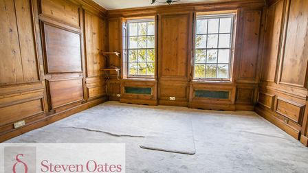 The property has five bedrooms