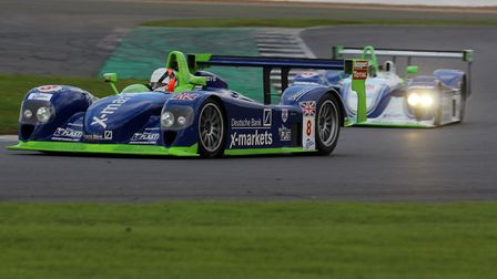 Martin Short leads the way at Silverstone. Picture: GARY MALKIN