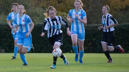 Four-goal St Ives Town Ladies talent Katherine Speed. Picture: JEFF CHAPMAN