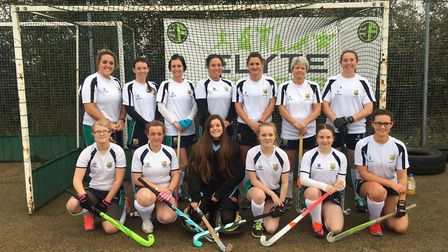 The table-topping St Ives Ladies 3rds team, pictured ahead of a recent game, are back row, left to r