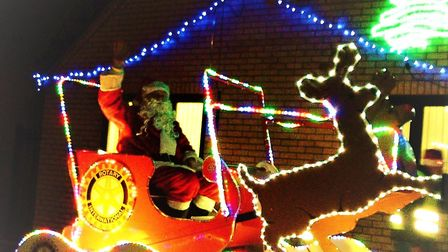 Father Christmas will be returning to St Ives again this year. Picture: ROTARY