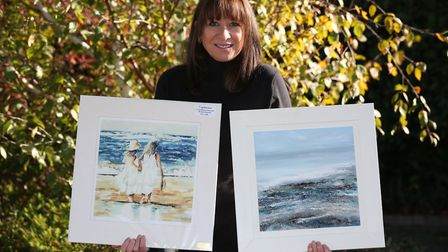 Artist Janet Gammans will be exhibiting her work at the Foxton art exhibition. Picture: Danny Loo