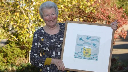 Artist Anna Pye will be exhibiting her work at the Foxton art exhibition. Picture: Danny Loo