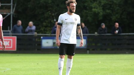 Scott Thomas is dual registered with Royston Town. Picture: DANNY LOO