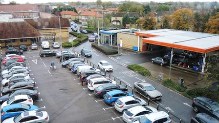 Visitors to Huntingdon are experiencing difficulties parking. Pictures: CONTRIBUTED.