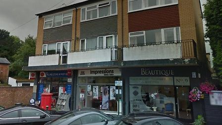 The businesses on Station Road which were burgled. Photo: GOOGLE