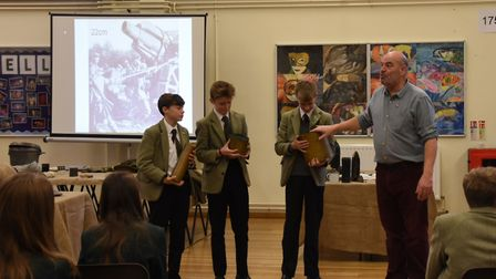 St George's School history day.